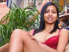 Arabian babe likes to play with cock