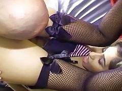 She likes taking it up the ass hard and deep