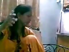 Desi newly married couple homemade