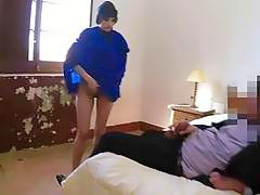 Arab refugees stretched pussy gets beat down fuck