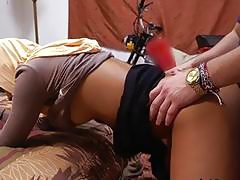 Arab Secretary Nikki Kay Gets Impaled By Hung Boss