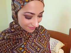 Arab ex girlfriend gives head and rides big cock